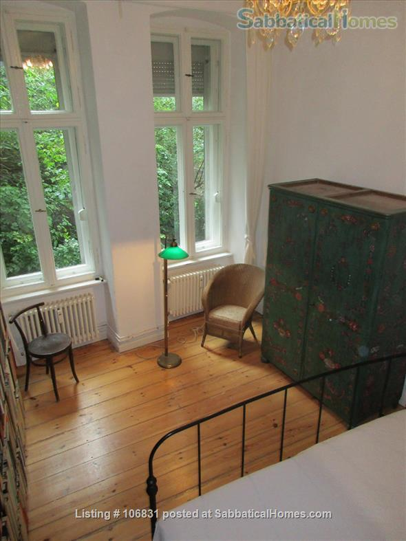 Elegant Art Nouveau flat with grand piano and large library - 3 rooms Home Rental in Berlin, Berlin, Germany 6