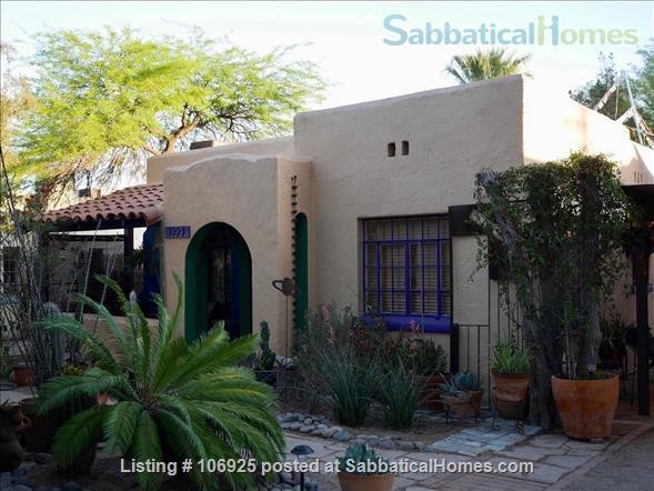 Elegant Refuge Near the University of Arizona Home Rental in Tucson, Arizona, United States 1