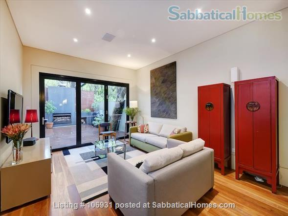 Stylish inner city terrace in Sydney Home Exchange in Forest Lodge, NSW, Australia 1