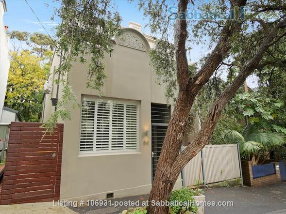 Stylish inner city terrace in Sydney Home Exchange in Forest Lodge, NSW, Australia 8