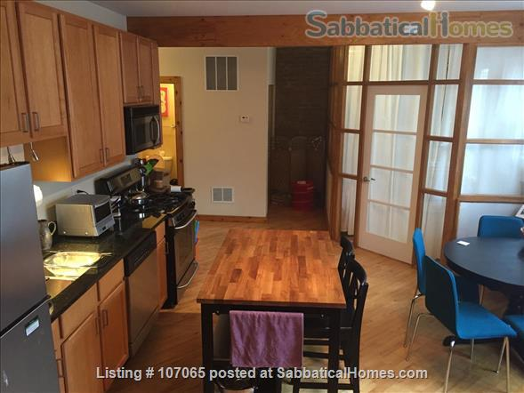 Hyde Park (52nd/Kimbark)  Fully-Furnished 2.5 Bdrm,  Home Rental in Chicago, Illinois, United States 1