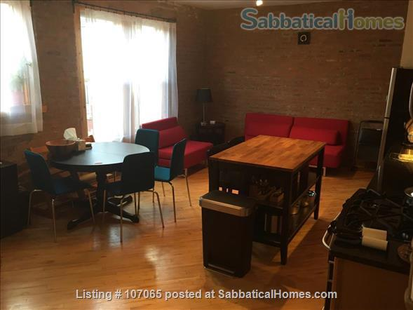 Hyde Park (52nd/Kimbark)  Fully-Furnished 2.5 Bdrm,  Home Rental in Chicago, Illinois, United States 0
