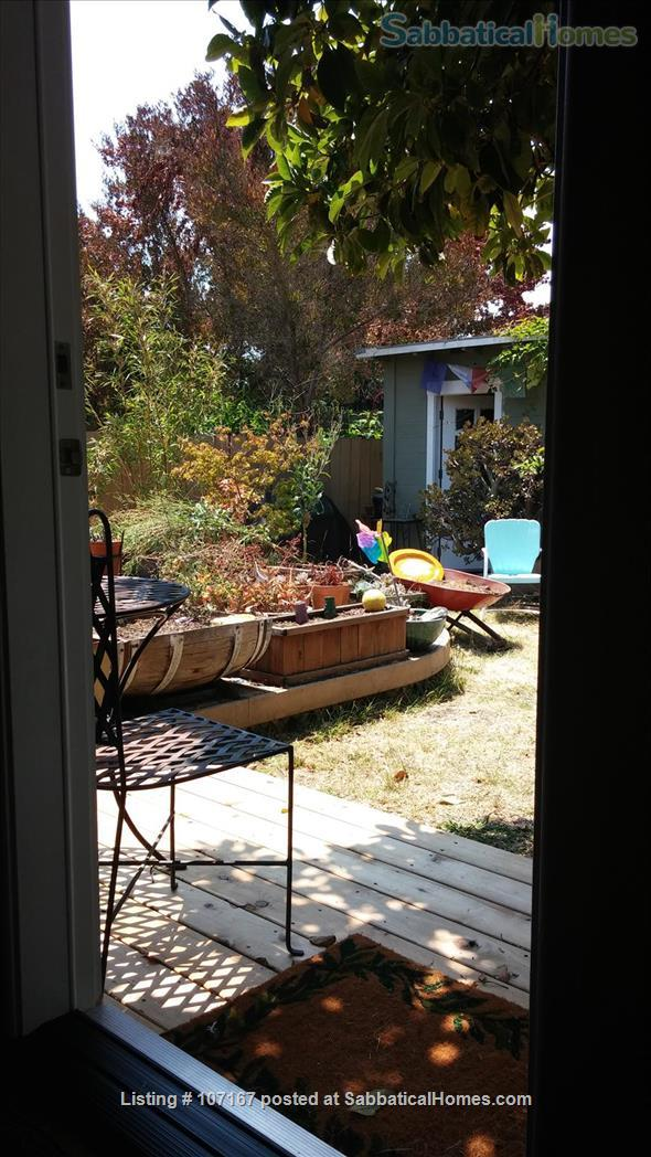 Private Garden Bedroom,  Shared House with Cat & Quiet Owner,  Lush Yard Home Rental in Berkeley, California, United States 2
