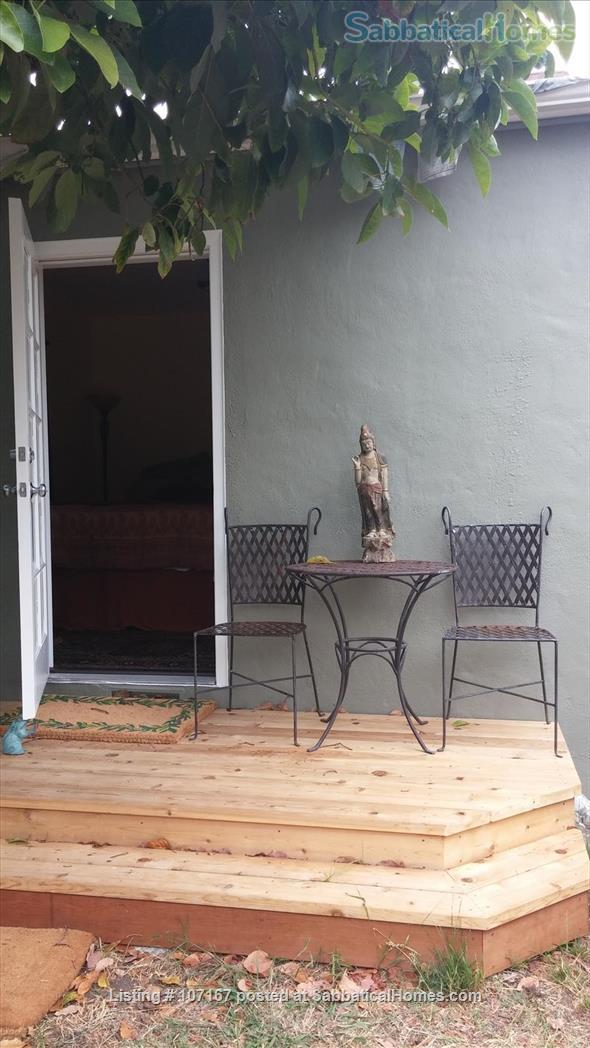 Private Garden Bedroom,  Shared House with Cat & Quiet Owner,  Lush Yard Home Rental in Berkeley, California, United States 6