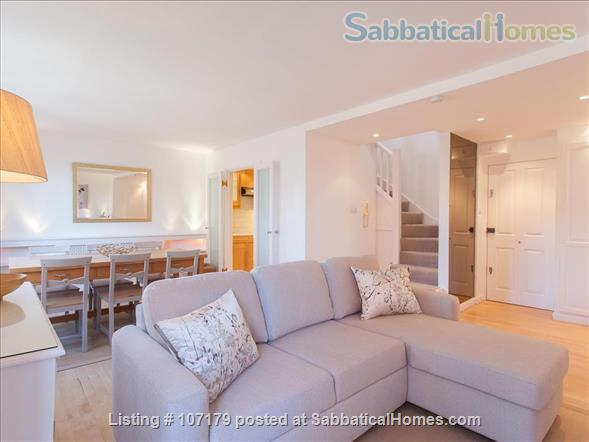 Two bedroom, two bathroom apartment to rent in London's fashionable Chelsea neighborhood.  Option to pay rent in dollars. Home Rental in London, England, United Kingdom 1