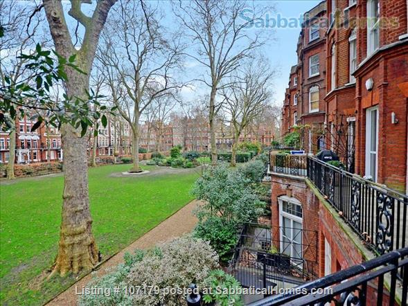 Two bedroom, two bathroom apartment to rent in London's fashionable Chelsea neighborhood.  Option to pay rent in dollars. Home Rental in London, England, United Kingdom 4