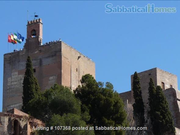 Belvedere Condo, 18009 Granada -  WIFI & A/C Home Rental in Granada, Andalucía, Spain 1
