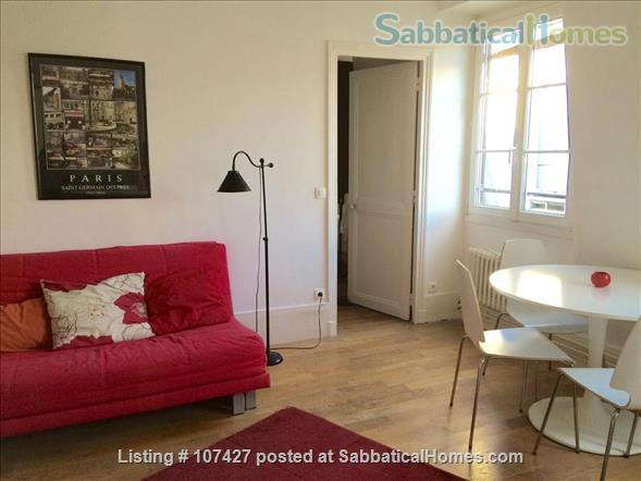 Left Bank between the Luxembourg garden and the cafés/cinemas of Montparnasse : sunny and calm. Home Rental in Paris, Île-de-France, France 1