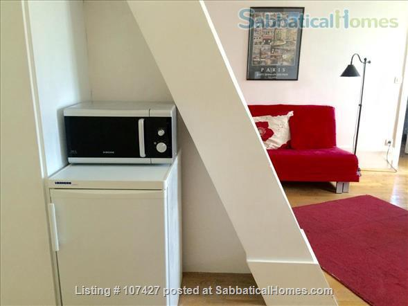 Left Bank between the Luxembourg garden and the cafés/cinemas of Montparnasse : sunny and calm. Home Rental in Paris, Île-de-France, France 2