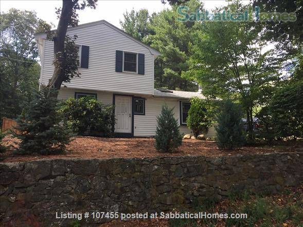 Quiet location, 3 Bdrms, Office,  Dog-friendly,  private garden near Arlington Ctr. Home Rental in Arlington, Massachusetts, United States 1