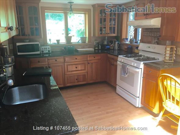 Quiet location, 3 Bdrms, Office,  Dog-friendly,  private garden near Arlington Ctr. Home Rental in Arlington, Massachusetts, United States 0