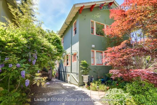Quiet 1-bd cottage, gorgeous garden,  minutes to UC, BART, shops Home Rental in Berkeley, California, United States 9