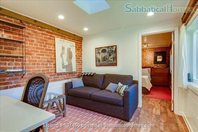 Quiet 1-bd cottage, gorgeous garden,  minutes to UC, BART, shops Home Rental in Berkeley, California, United States 0