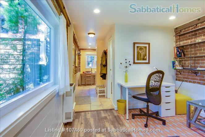 Quiet 1-bd cottage, gorgeous garden,  minutes to UC, BART, shops Home Rental in Berkeley, California, United States 2
