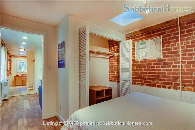 Quiet 1-bd cottage, gorgeous garden,  minutes to UC, BART, shops Home Rental in Berkeley, California, United States 5