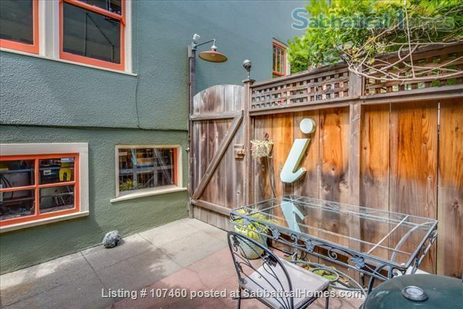 Quiet 1-bd cottage, gorgeous garden,  minutes to UC, BART, shops Home Rental in Berkeley, California, United States 7