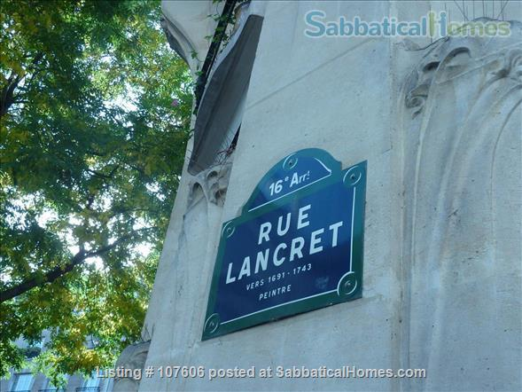 Apartment for rent in Paris XVIeme Home Rental in Paris 0