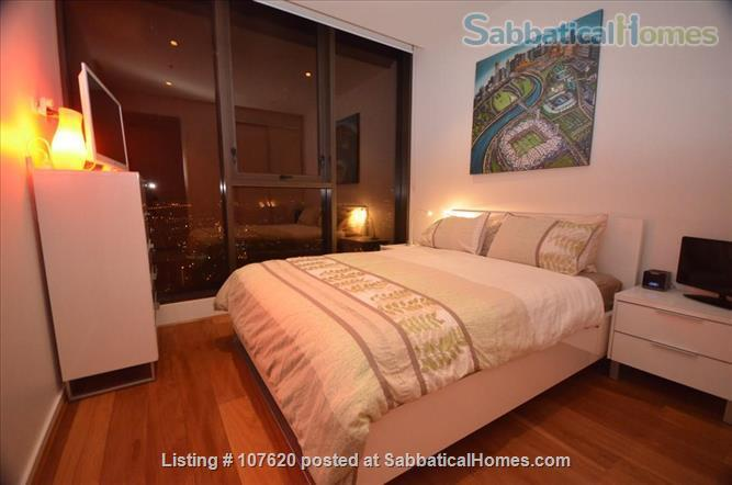 CBD Modern 2-Bed/2-Spa bath penthouse near Melbourne University,  RMIT, Australian Catholic University, St. Vincent's Hospital, Epworth Hospital Home Rental in Melbourne, VIC, Australia 2