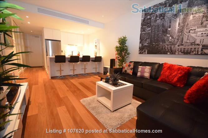 CBD Modern 2-Bed/2-Spa bath penthouse near Melbourne University,  RMIT, Australian Catholic University, St. Vincent's Hospital, Epworth Hospital Home Rental in Melbourne, VIC, Australia 6