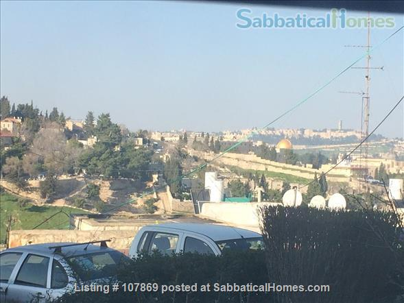 Beautiful luxury two bedroom furnished apartment overlooking the Dome of the Rock Home Rental in Jerusalem, Jerusalem District, Israel 9