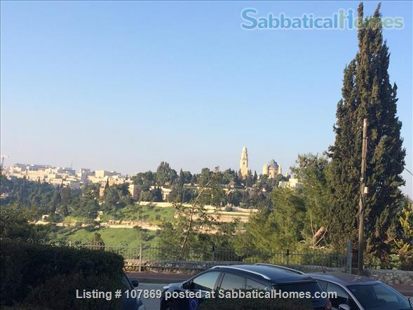 Beautiful luxury two bedroom furnished apartment overlooking the Dome of the Rock Home Rental in Jerusalem, Jerusalem District, Israel 8