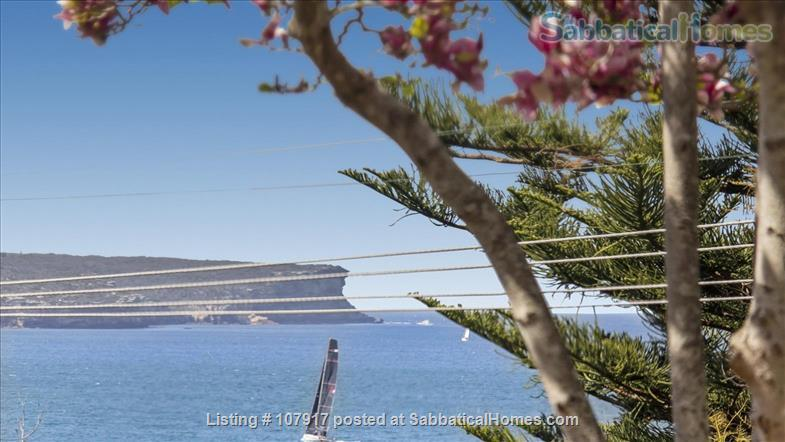 Live by the beach - wake up to a view.  *direct M30 bus to Sydney Uni Home Rental in Mosman, New South Wales, Australia 0