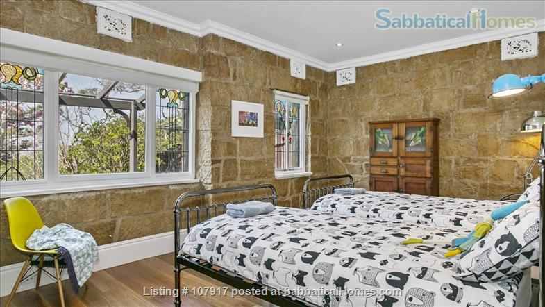 Live by the beach - wake up to a view.  *direct M30 bus to Sydney Uni Home Rental in Mosman, New South Wales, Australia 7
