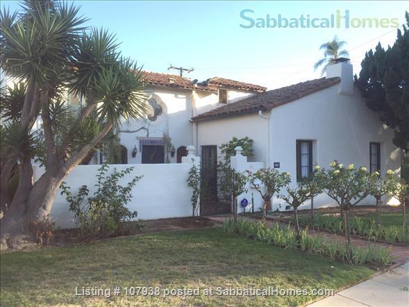 Santa Barbara Mission and Mountain View Home Rental in Santa Barbara, California, United States 1