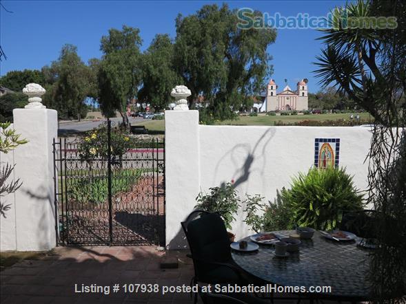 Santa Barbara Mission and Mountain View Home Rental in Santa Barbara, California, United States 2