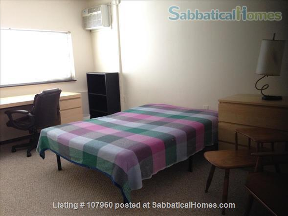 Large, Light, Furnished Room with View, Private Bath  & A/C in 2BR 2BA Apt. Home Rental in Cambridge, Massachusetts, United States 1