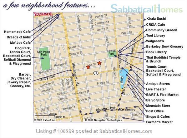 J2 Lovely, Sunny Room, 3 Blocks BART Home Rental in Berkeley, California, United States 9