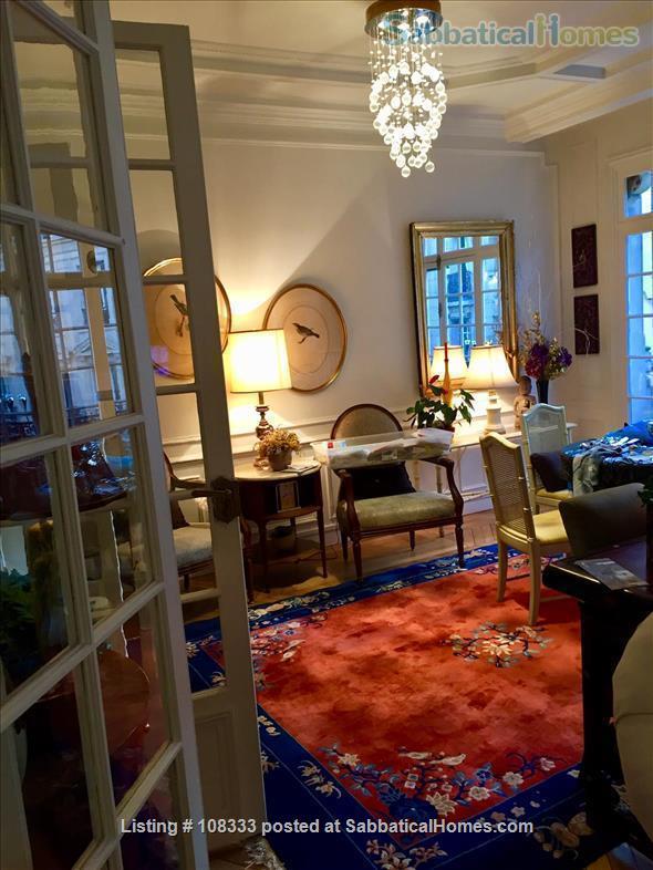 """PARISIAN ELEGANCE, UPSCALE FLAT """"BON STANDING"""", 2 bedroom, (1000 Square feet) Home Rental in Paris, Île-de-France, France 3"""