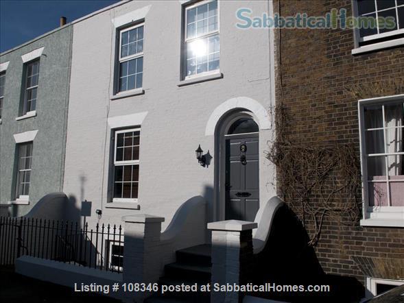 Great Georgian seaside townhouse  Home Rental in Deal, England, United Kingdom 1