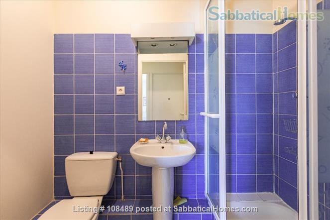 PARIS  - Quiet & spacious apartment ( 1100 sq ft) 5 rooms + terrace Home Rental in Paris, Île-de-France, France 9