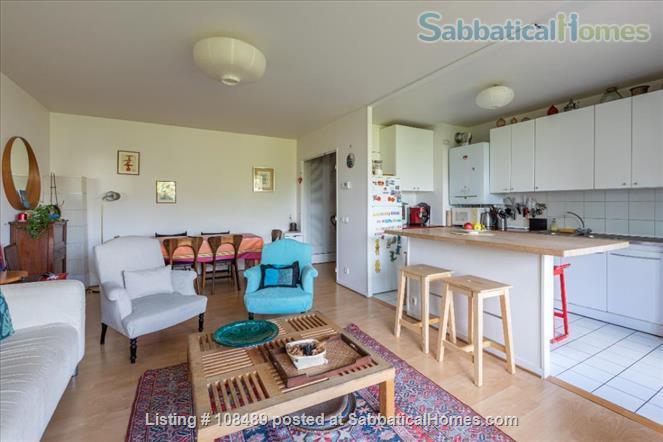 PARIS  - Quiet & spacious apartment ( 1100 sq ft) 5 rooms + terrace Home Rental in Paris, Île-de-France, France 2