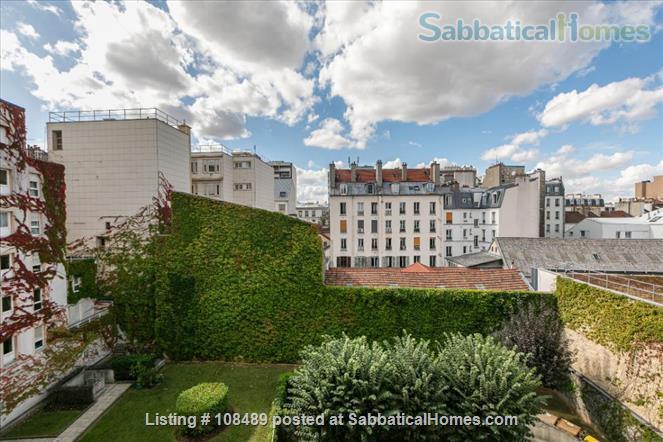 PARIS  - Quiet & spacious apartment ( 1100 sq ft) 5 rooms + terrace Home Rental in Paris, Île-de-France, France 4
