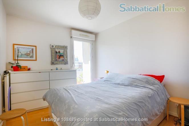 PARIS  - Quiet & spacious apartment ( 1100 sq ft) 5 rooms + terrace Home Rental in Paris, Île-de-France, France 5