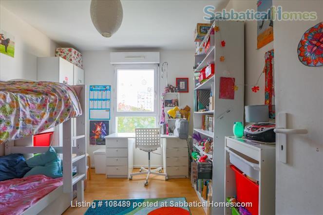 PARIS  - Quiet & spacious apartment ( 1100 sq ft) 5 rooms + terrace Home Rental in Paris, Île-de-France, France 7
