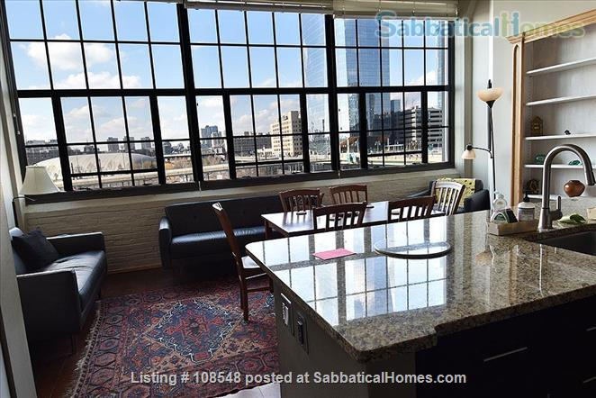 Stunning Loft Water View Best Loc. ALL INCLUSIVE Perfect for Train Lovers Home Rental in Philadelphia, Pennsylvania, United States 1