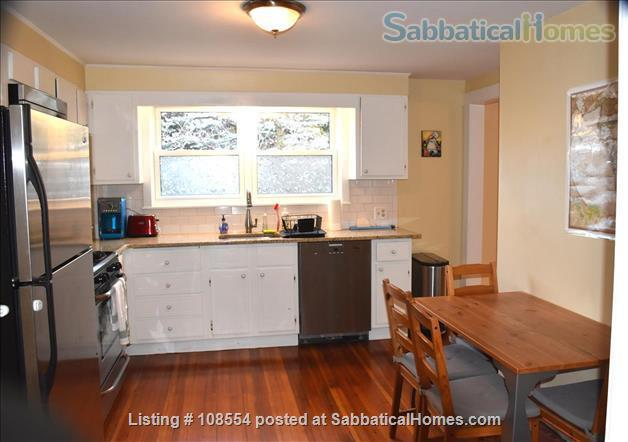 Spacious, quiet 2+BR 1.5BA furnished West Cambridge condo. Garden, parking, AC, WD, internet/TV, pets considered Home Rental in Cambridge, Massachusetts, United States 2