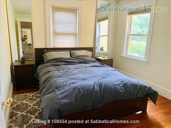Spacious, quiet 2+BR 1.5BA furnished West Cambridge condo. Garden, parking, AC, WD, internet/TV, pets considered Home Rental in Cambridge, Massachusetts, United States 3