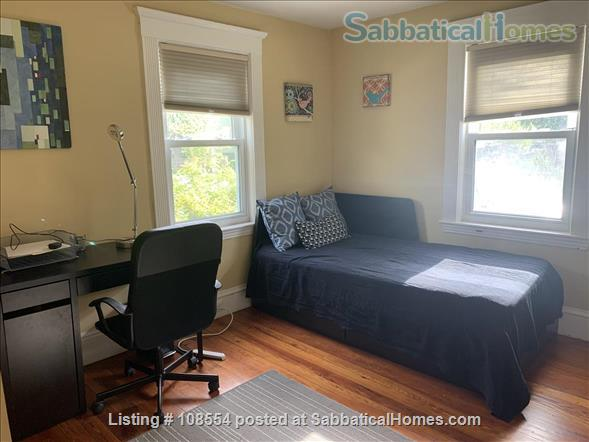 Spacious, quiet 2+BR 1.5BA furnished West Cambridge condo. Garden, parking, AC, WD, internet/TV, pets considered Home Rental in Cambridge, Massachusetts, United States 4