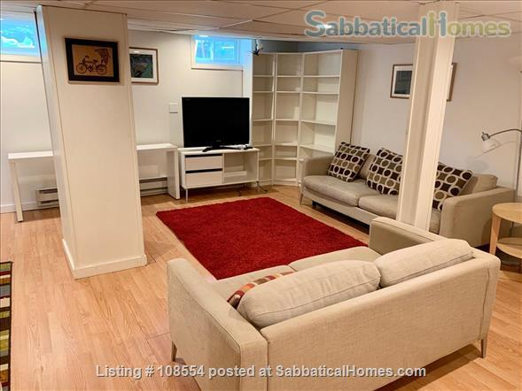 Spacious, quiet 2+BR 1.5BA furnished West Cambridge condo. Garden, parking, AC, WD, internet/TV, pets considered Home Rental in Cambridge, Massachusetts, United States 6