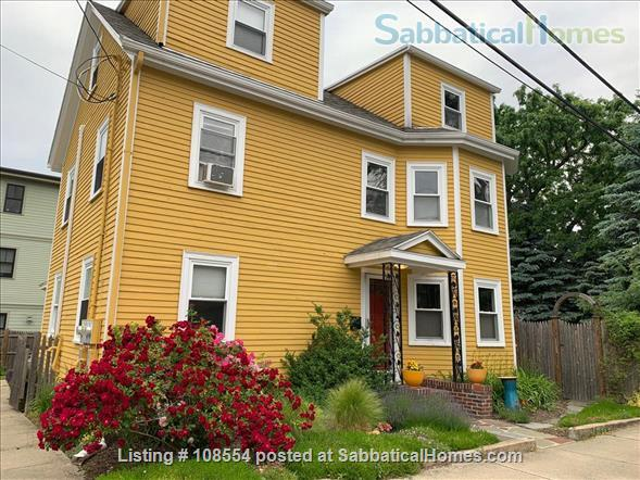 Spacious, quiet 2+BR 1.5BA furnished West Cambridge condo. Garden, parking, AC, WD, internet/TV, pets considered Home Rental in Cambridge, Massachusetts, United States 8