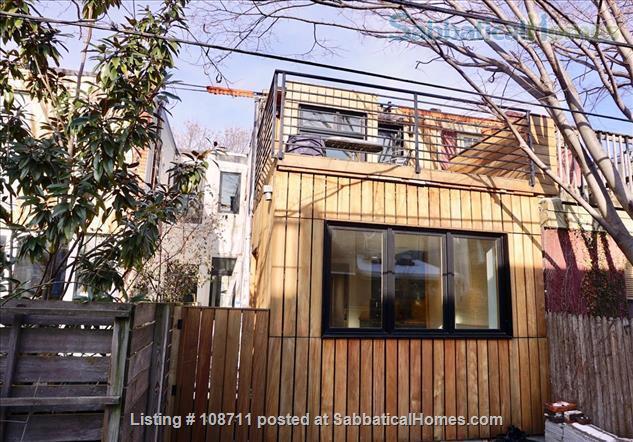 Architect-designed 2br rowhouse on charming Saint Albans street  Home Rental in Philadelphia, Pennsylvania, United States 9