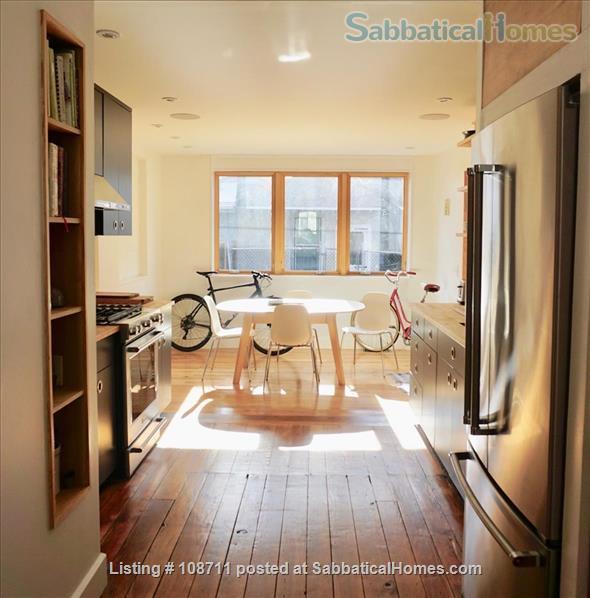 Architect-designed 2br rowhouse on charming Saint Albans street  Home Rental in Philadelphia, Pennsylvania, United States 2
