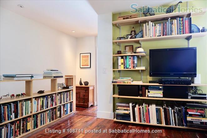 Architect-designed 2br rowhouse on charming Saint Albans street  Home Rental in Philadelphia, Pennsylvania, United States 5