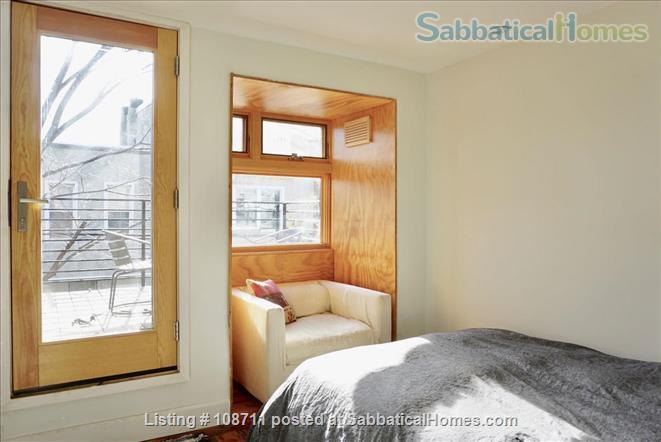Architect-designed 2br rowhouse on charming Saint Albans street  Home Rental in Philadelphia, Pennsylvania, United States 8