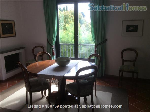 PIAN DEI GIULLARI  PANORAMIC APARTMENT IN AN OLIVE GROVE 15 MINUTES FROM THE PONTE VECCHIO Home Rental in Florence, Tuscany, Italy 2