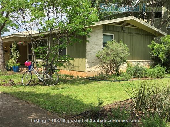 Private Hyde Park cottage near UT; all util/wifi/bike incl.; Washer/dryer Home Rental in Austin, Texas, United States 1